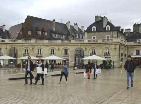 Spacery po Dijon