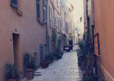 Uliczki Saint Tropez
