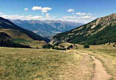Szlaki w Alpach Poludniowych