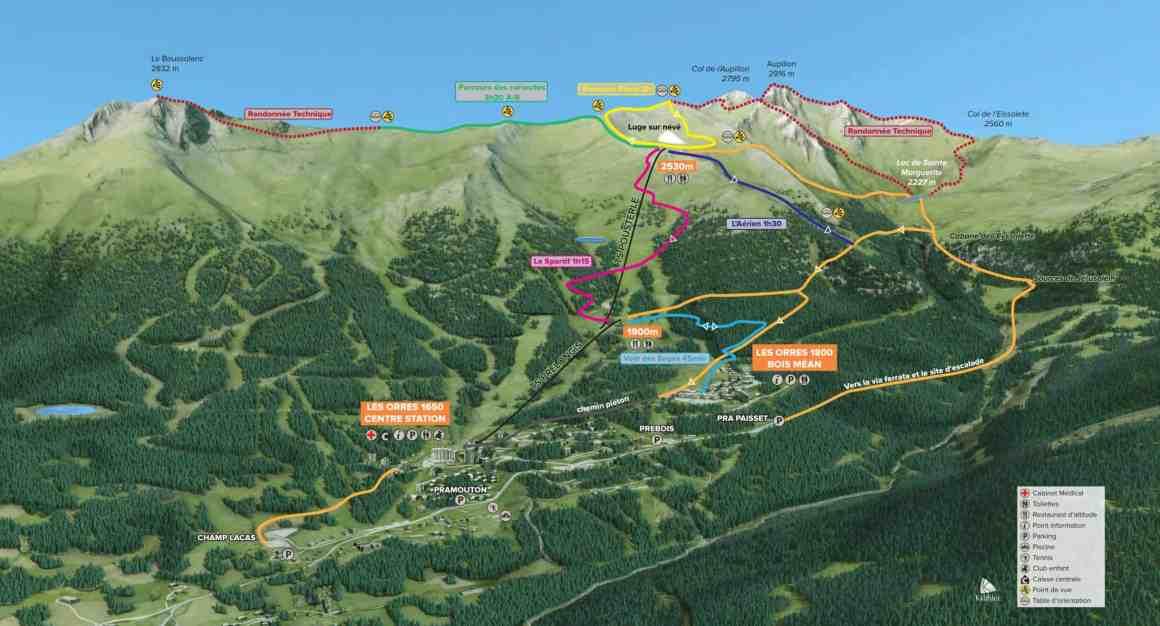 szlaki w Alpach Południowych