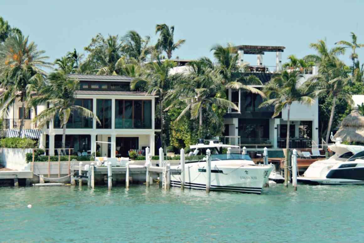 Domy gwiazd w Miami