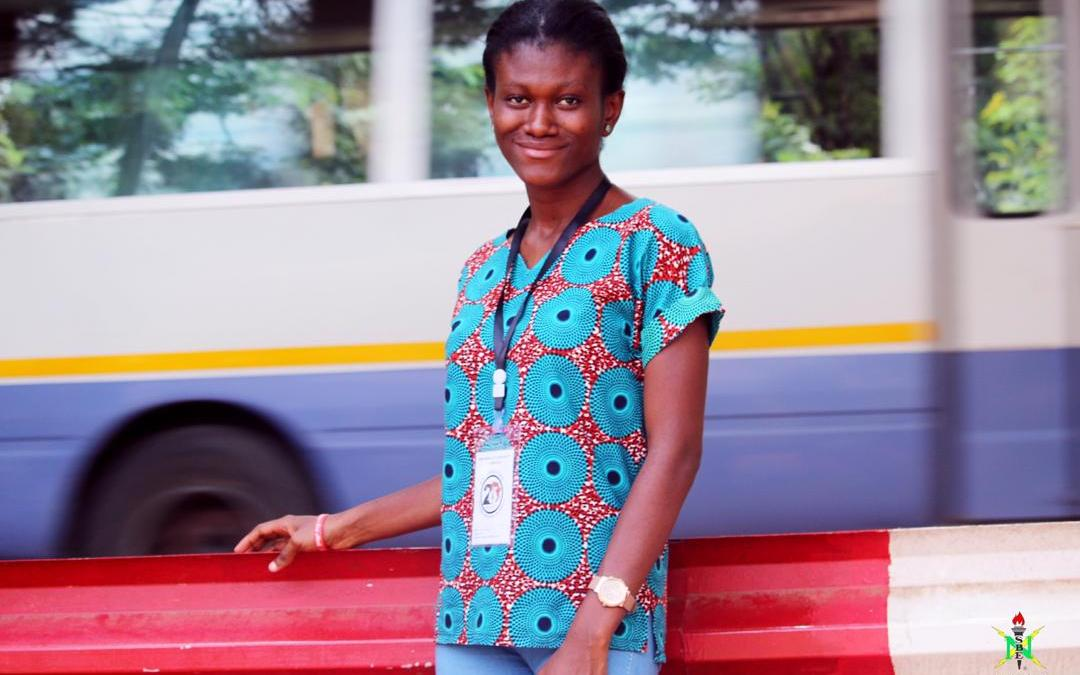 Volunteer of the Month – April '19 – Edem Owusua Barbara Bansah