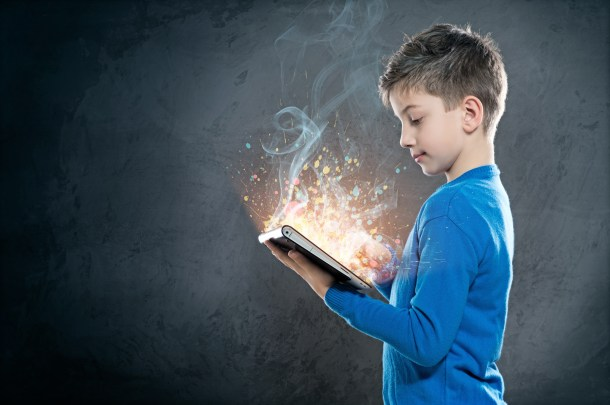 Child with Tablet PC