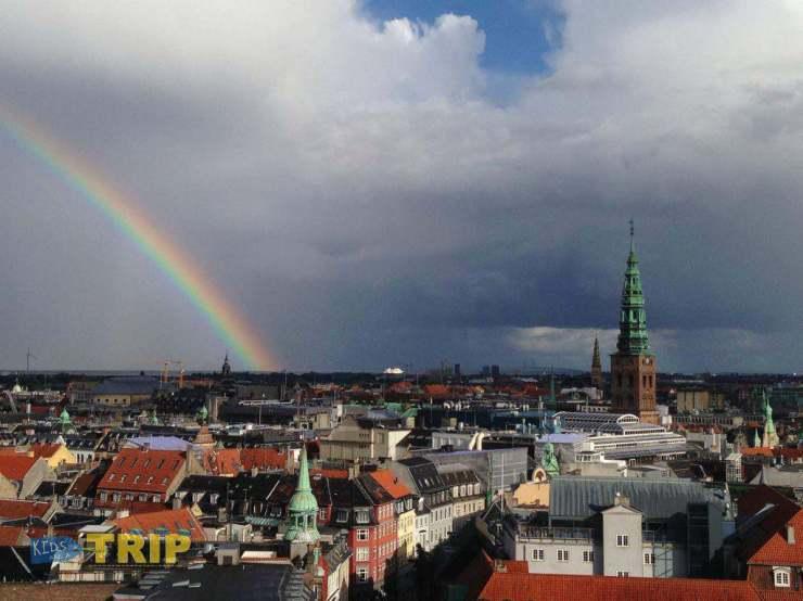 Rainbow in Copenhagen