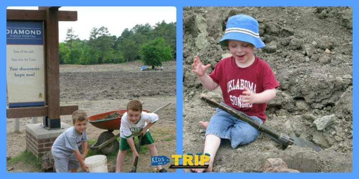 Crater of Diamonds State Park-Kids Are A Trip