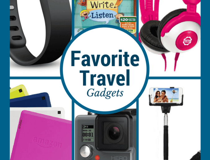 7 Favorite Travel Gadgets for A Family Vacation