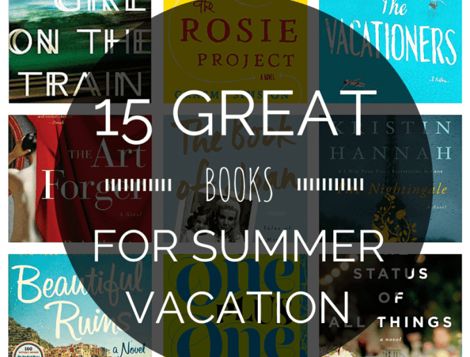 15 Great Books for Summer Vacation