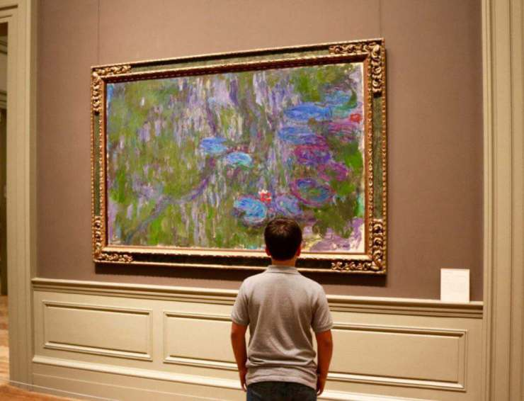 How to Survive a Museum Visit with Kids Find a Favorite Piece of Art - Kids Are A Trip
