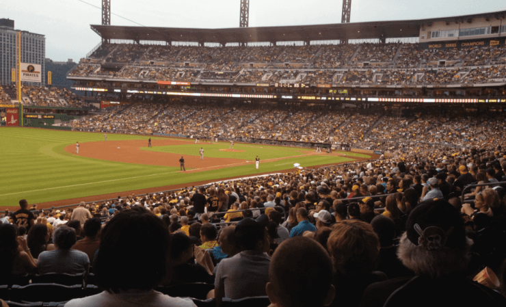 PNC Park Pittsburgh-Kids Are A Trip