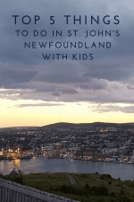 Top 5 Things to Do in St. John's, Newfoundland with Kids
