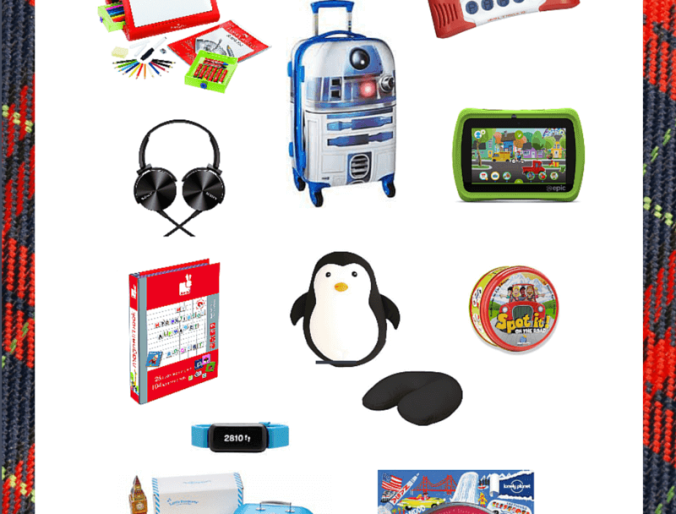 Holiday Gift Guide for Kids Who Travel