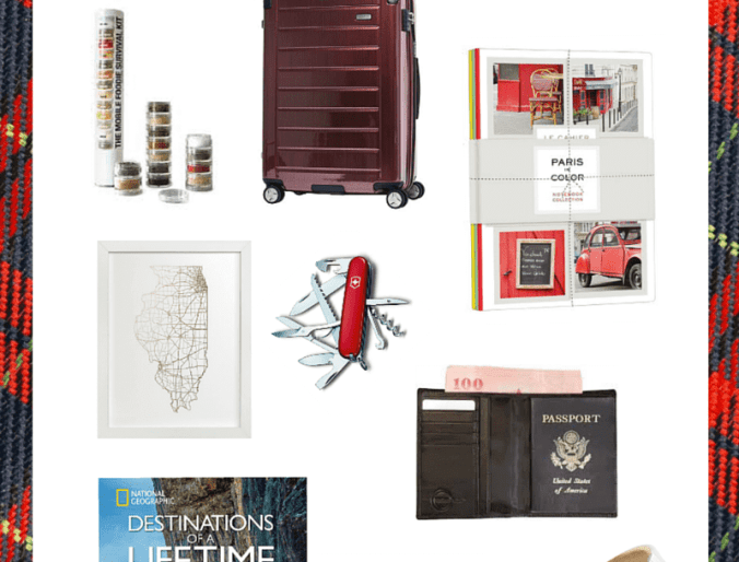 Holiday Gift Guide for Those Who Love Travel