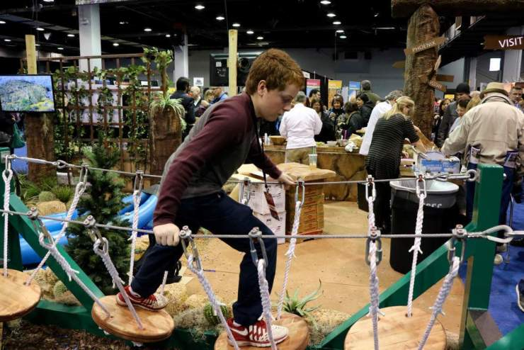 Visiting a Travel and Adventure Show with kids in tow can be a great way to spend the day. See these tips for visiting a show with your family. - Kids Are A Trip