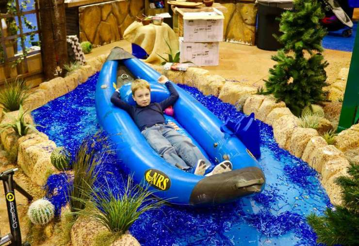 Travel And Adventure Show Visit Arizona-Kids Are A Trip