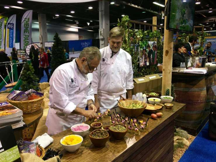 Travel and Adventure Show Food Demonstrations Rock-Kids Are A Trip
