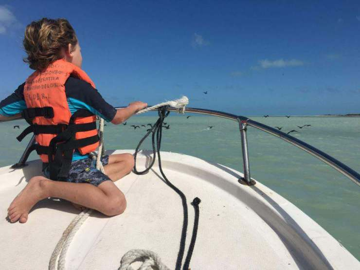 What Families Will Love About Holbox, Mexico Boat Rides-Kids Are A Trip