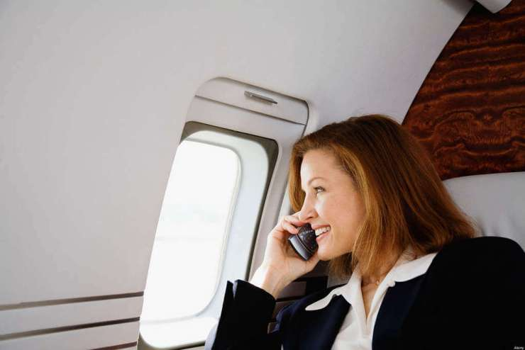People You Don't Want to Be Stuck Next to on an Airplane Cell Phone User-Kids Are A Trip
