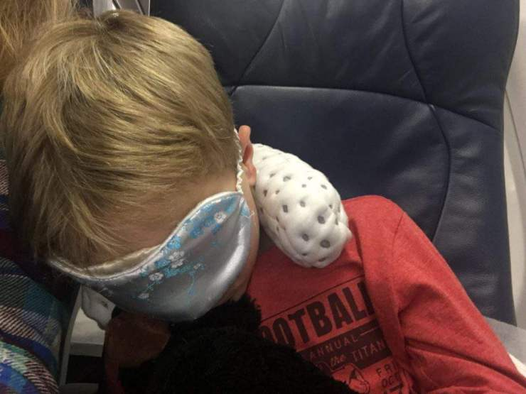 People You Don't Want to Be Stuck Next to on an Airplane Space Hogs-Kids Are A Trip