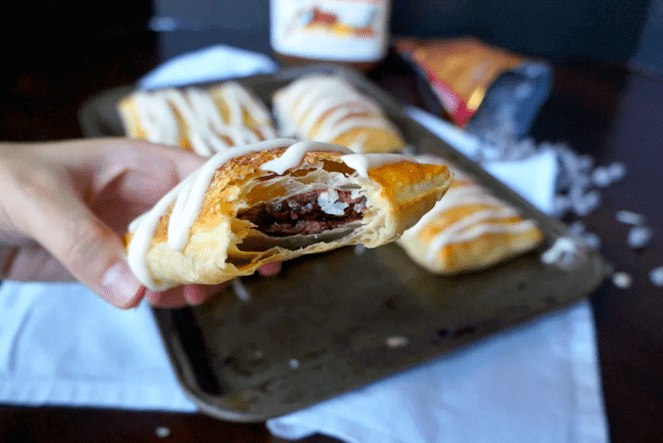 Easy to Make and Pack Travel Snacks Nutella Strudel-Kids Are A Trip