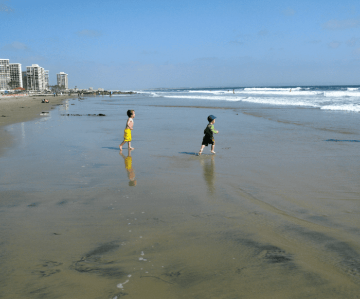 San Diego at Spring Break with Kids-Kids Are A Trip