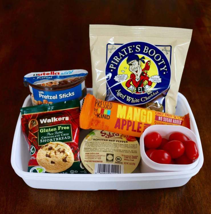 Easy to Pack Back to School Snacks-Kids Are a Trip