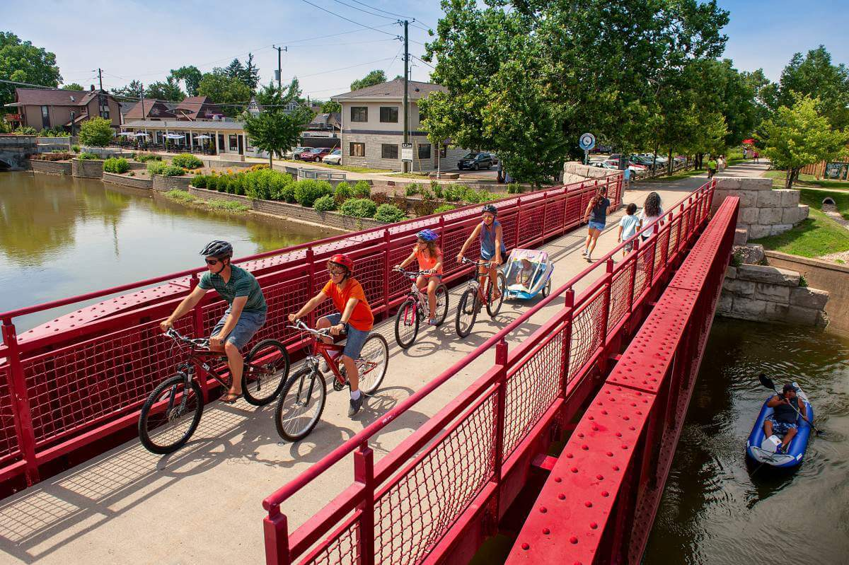 Family Friendly Things to Do in Indianapolis Monon Trail-Kids Are A Trip