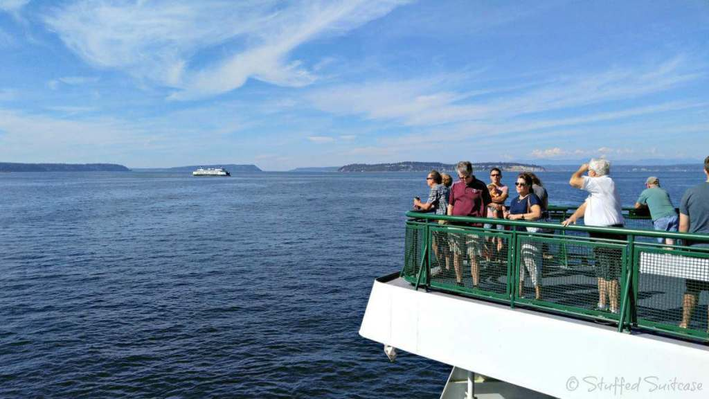 family friendly things to do in seattle-ferry-kids are a trip