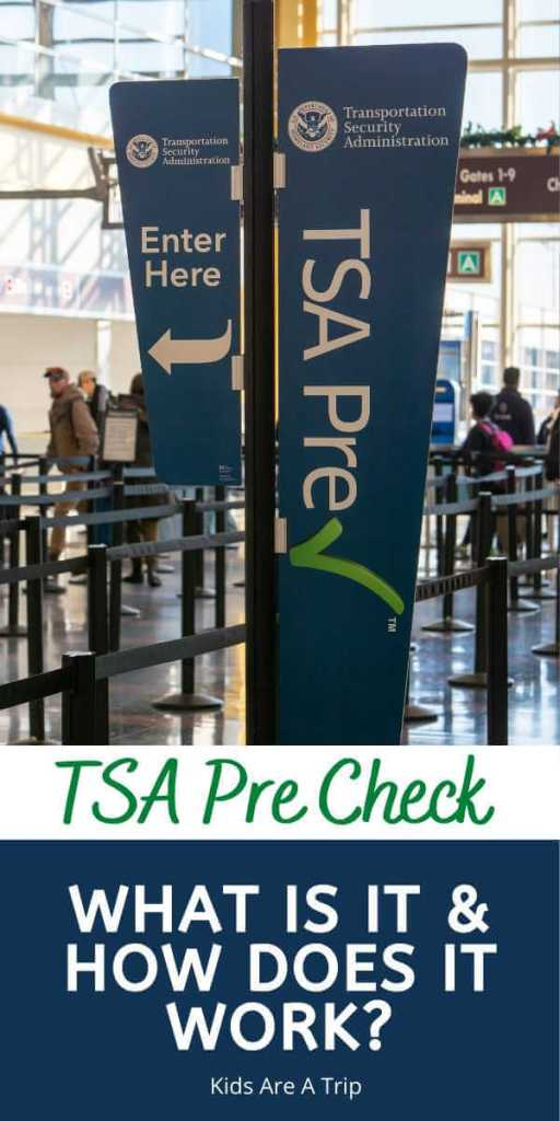What Is TSA Pre Check and How Does it Work-Kids Are A Trip