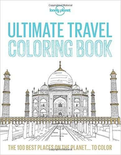 Holiday Gifts for Women who Love travel coloring book-Kids Are A Trip