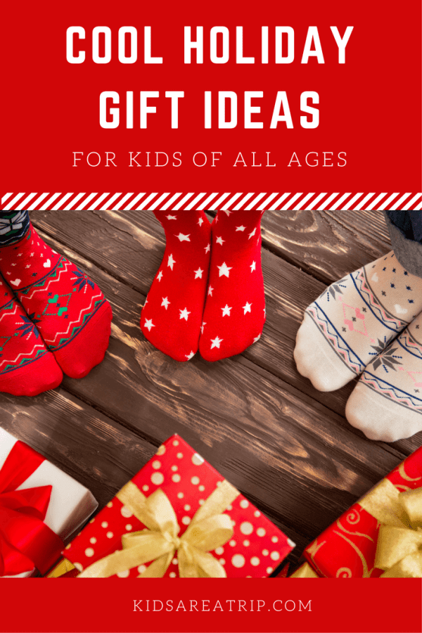 It can be hard to find the right gift, but this list helps you find cool holiday gift ideas for kids of all ages you might not have thought of before. - Kids Are A Trip