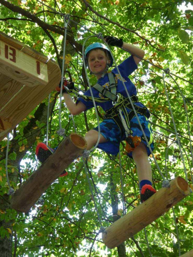 Goodbye 2016 Ropes Course Challenge Facing Fears-Kids Are A Trip