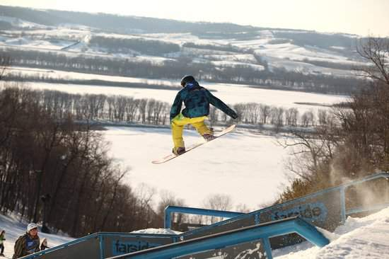 best places to ski in the midwest with kids chestnut-mountain-kids are a trip