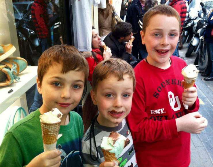 How to Visit Sorrento, Capri, and Pompeii with Kids and Eat Gelato-Kids Are A Trip