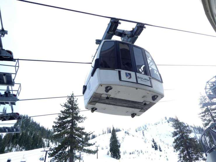 Resort at Squaw Creek Lake Tahoe Aerial Tram - Kids Are A Trip