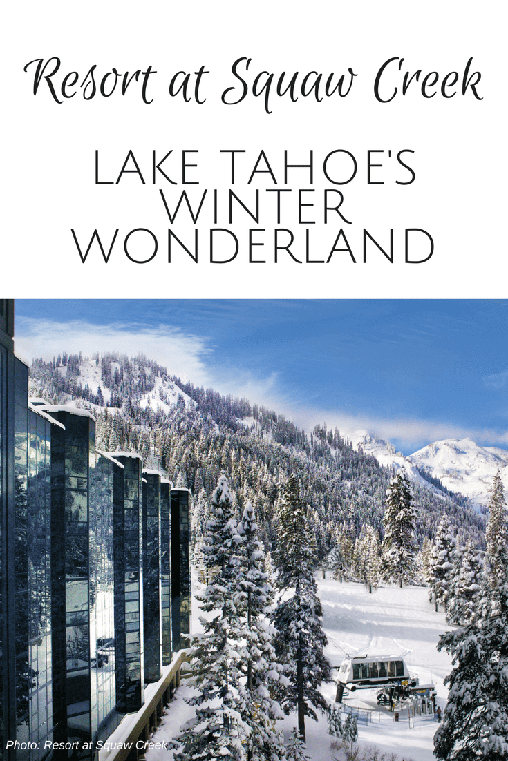 The Resort at Squaw Creek is Lake Tahoe's winter wonderland. The California property has an award winning spa, plenty of kids activities, and delicious locally sourced dining. What are you waiting for? - Kids Are A Trip