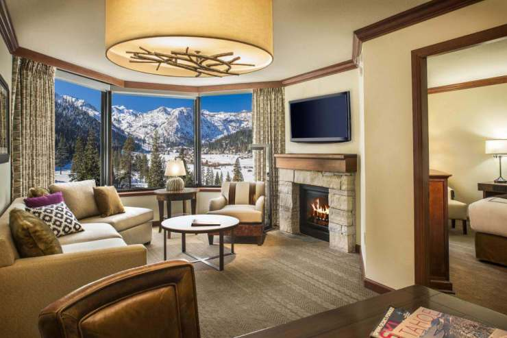 Resort at Squaw Creek is Lake Tahoe's Winter Wonderland Suite - Kids Are A Trip