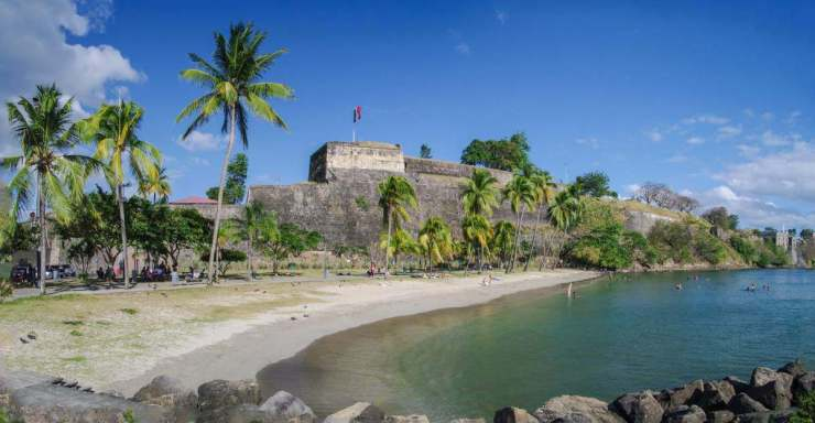 Why Martinique is Perfect for Families Fort St Louis-Kids Are A Trip