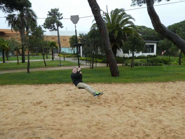Martinhal Cascais Kids Love the Outdoor Playground-Kids Are A Trip
