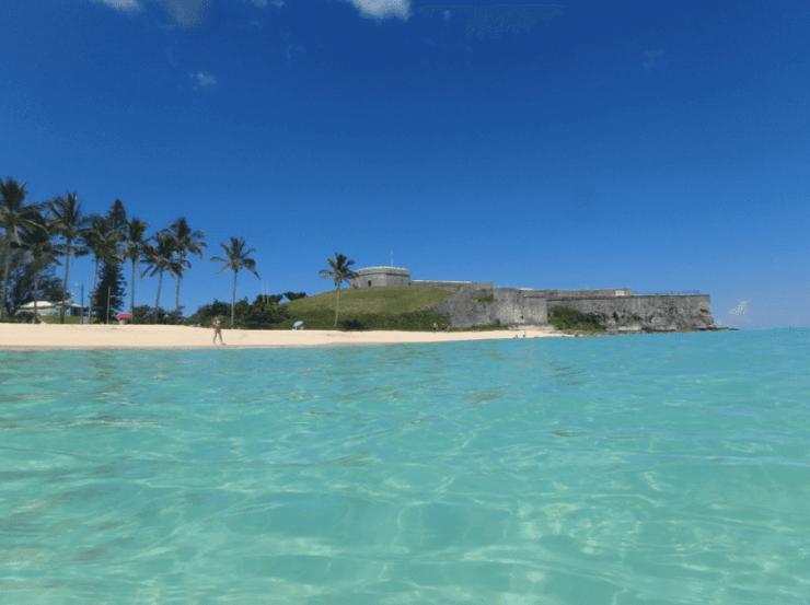 Family Friendly Things to Do in Bermuda - Fort St. Catherine and St. Catherine Beach