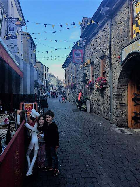 family friendly things to do in Kilkenny Ireland Medieval Mile -Kids Are A Trip
