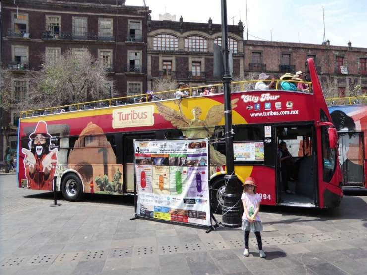 Family Friendly Things to Do in Mexico City Turibus-Kids Are A Trip