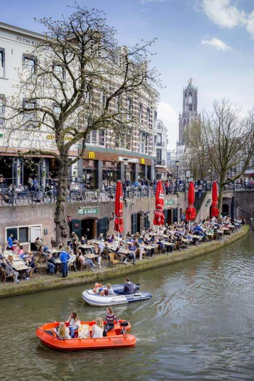 Family Friendly Things to Do in Utrecht Cafes by the Water-Kids Are A Trip