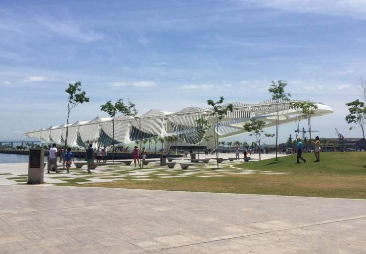 Family Friendly Things to do in Rio Museum of Tomorrow-Kids Are A Trip