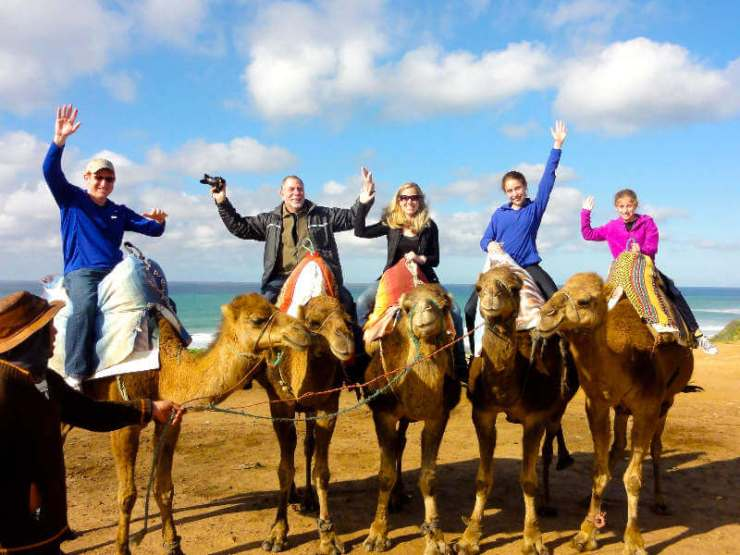 Family Friendly Things to Do in Tangier Morocco Ride a Camel-Kids Are A Trip