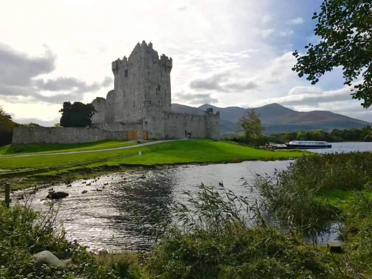 Travel with Kids to Ireland Ross Castle-Kids Are A Trip