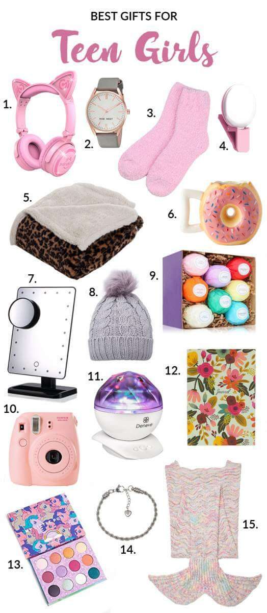 15 Best Gifts for Teen Girls-Gift Guide 2017-Kids Are A Trip