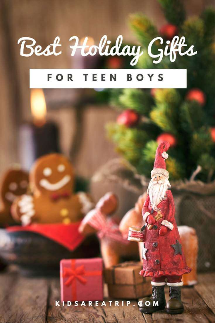 Always wondering what to get those hard to shop for teen boys? Worry no more with this awesome list of the best gifts for teen boys! - Kids Are A Trip
