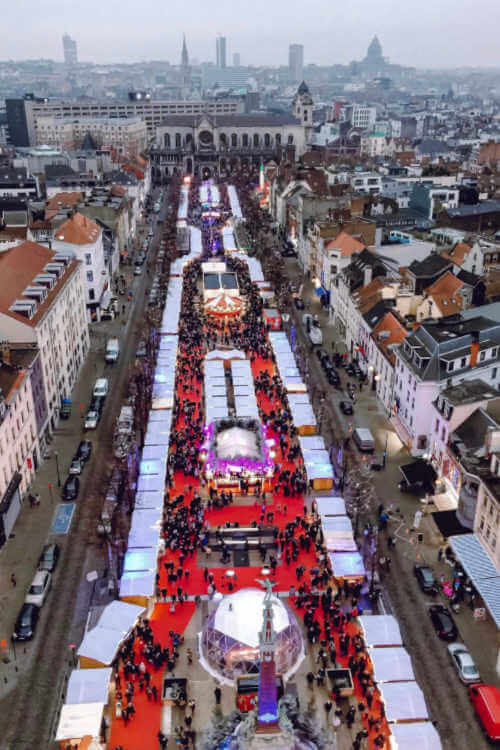 Brussels Christmas Market-Kids Are A Trip