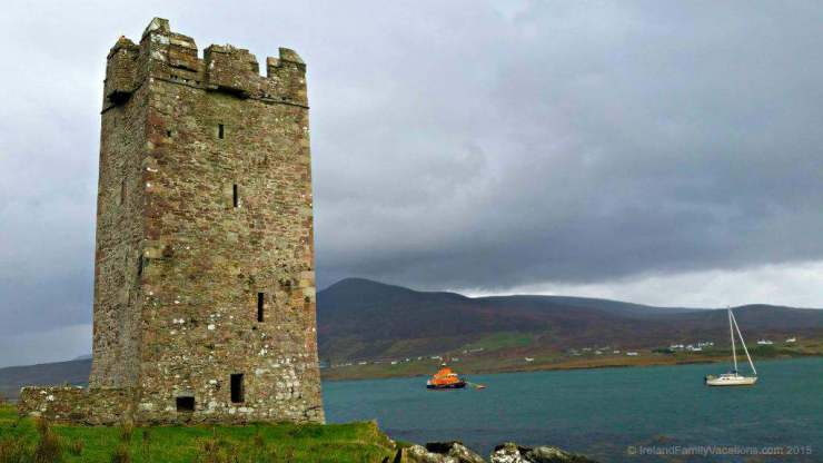 Family Friendly Things to Do in Westport, County Mayo, Ireland Grace O'Malley's Castle-Kids Are A Trip