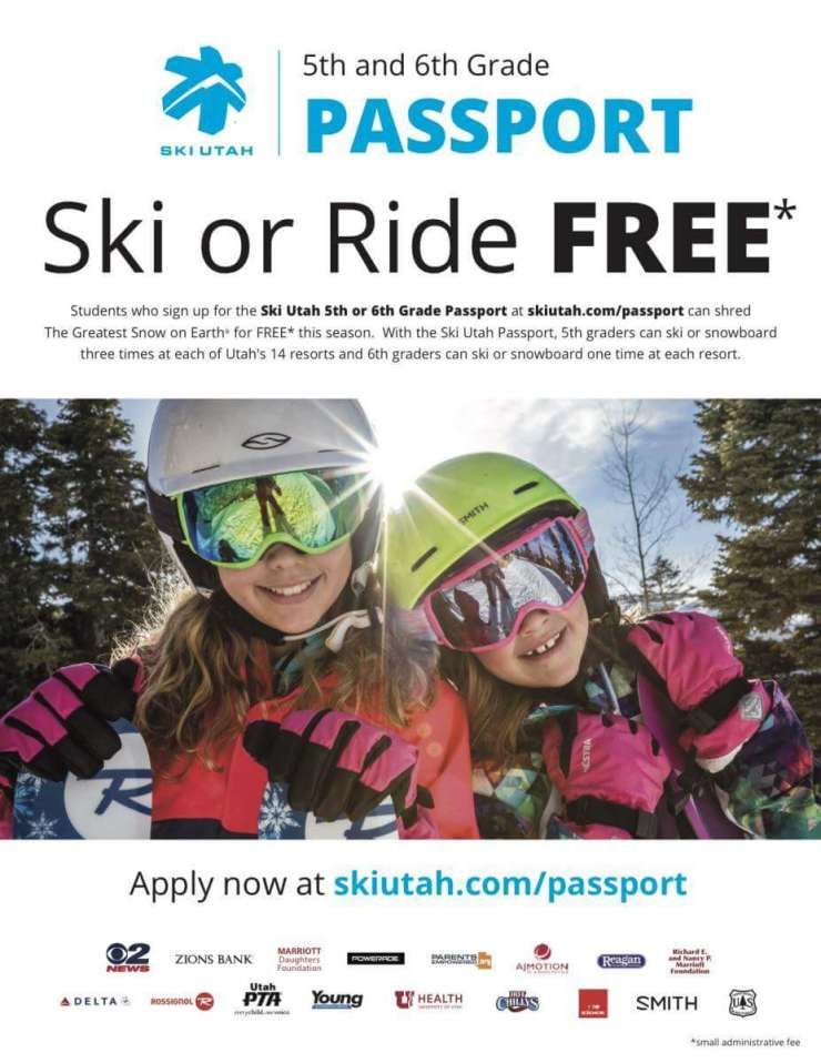 2017-18 Ski Utah Passport Program
